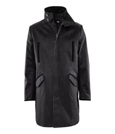 [H&M Online] Herrenmantel - 33,65€ inkl. VSK