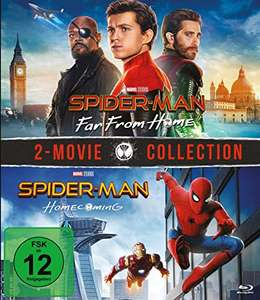 Spider-Man: Far From Home + Spider-Man: Homecoming (Doppelset Blu-ray) für 12,60€ (Amazon Prime & Saturn Abholung)