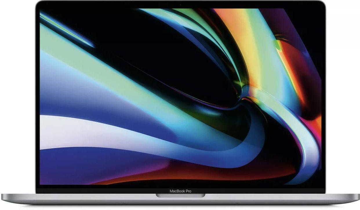 "Apple MacBook Pro 16"" Core i7 2,6/16/512 RP5300 Touchbar Grau MVVJ2D/A"