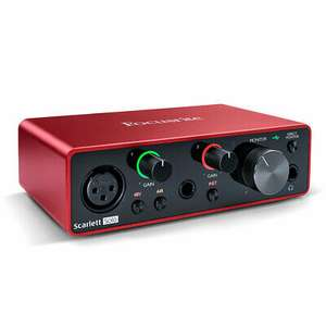 Audio Interface Focusrite Scarlett Solo 3rd Gen