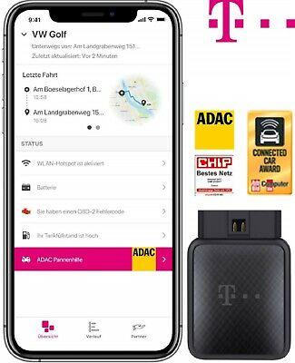 Telekom CarConnect Adapter mit 5GB LTE (100 Mbit/s) Datentarif für 12 Monate