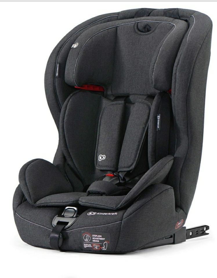 Kinderkraft Safety Fix Kindersitz Gruppe 1-3 (Bestpreis?)