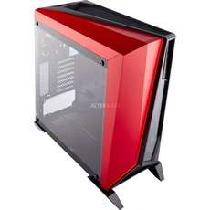 PC Gehäuse - Corsair SPEC-Omega schwarz/rot (2x USB 3.0, 2x 120mm Lüfter)