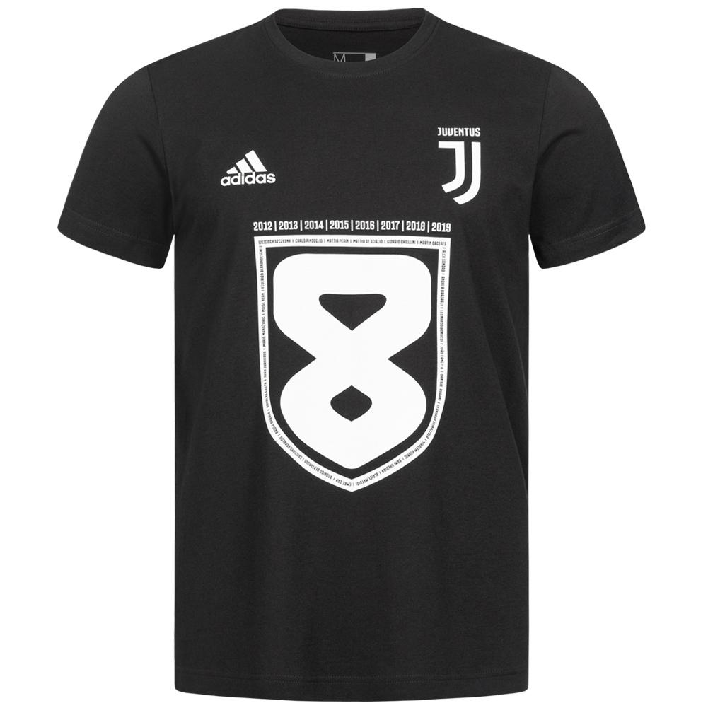 Juventus Turin adidas Meister Herren Fan T-Shirt (Größen S bis XXL)