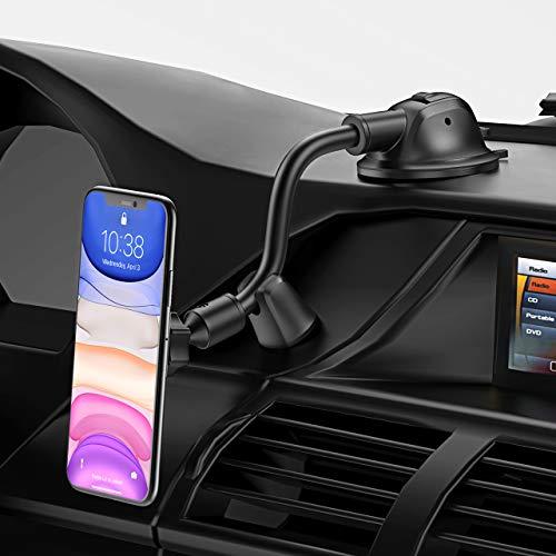 Magnetische Handyhalterung mit Saugnapf und flexibler Schwanenhals (Prime)