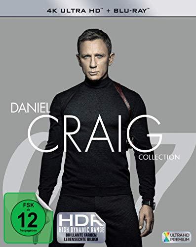 James Bond: Daniel Craig Collection (4K Blu-ray & Blu-ray) für 47,89€ inkl. Versand (Amazon)