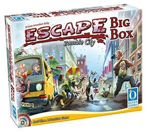 [Amazon Blitzangebot] Escape Zombie City Big Box - Queen Games