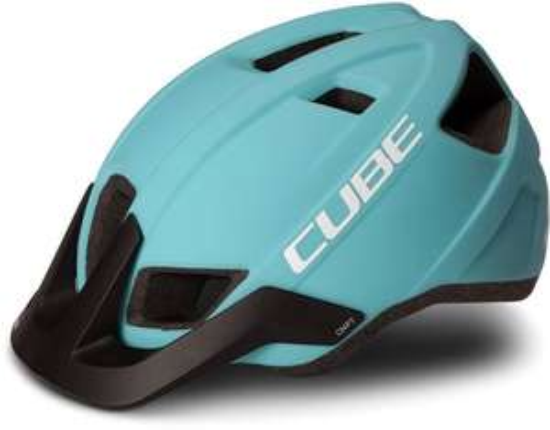 Fahrrad Helm CUBE CMPT - iceblue/white (L = 58-61cm)