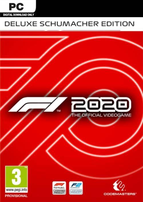 F1 2020 Schumacher Deluxe Edition (Steam) für 36,05€ (CDKeys)
