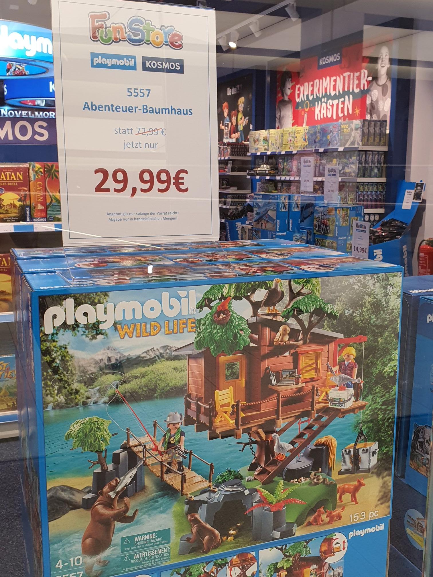 [Lokal FFM im NWZ] Playmobil 5557 Baumhaus - im Fun Store