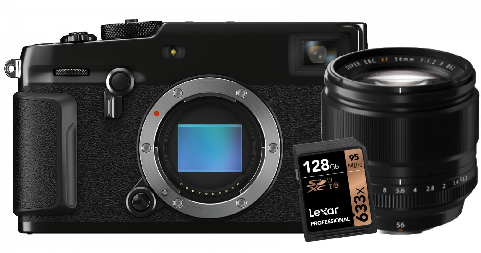 Fujifilm X-Pro3 inkl. Fujinon XF56F1,2 & SD Karte oder X-T4 inkl. XC35F2, SD Karte & Tasche für 1895,95€   Cameraworld UK