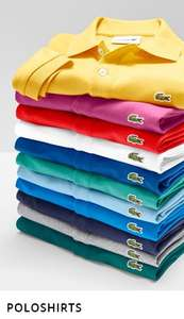 [Hirmer] Lacoste Waffelpiqué Poloshirts (Slim & Regular) im Doppelpack für 90€