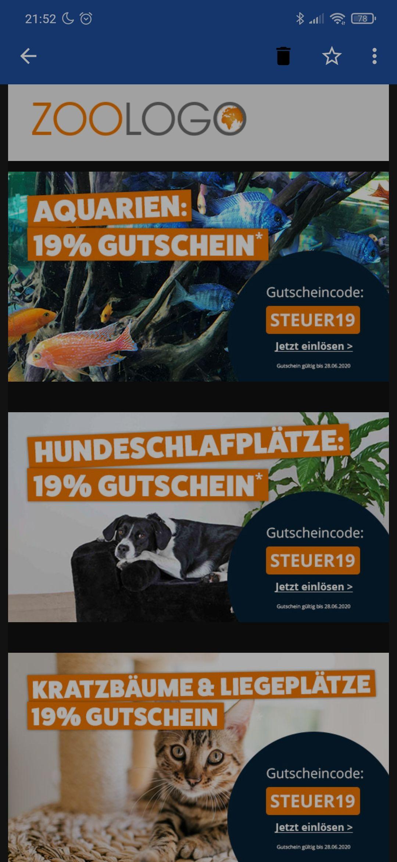 19% bei Zoologo auf Aquarien