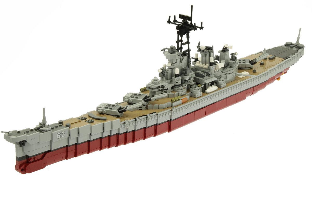 [Klemmbausteine] Schlachtschiff USS Missouri von XingBao (XB-06030) @ Steinchenshop.de