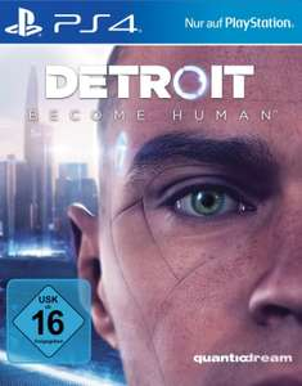[hitseller] Detroit: Become Human (PS4) 10,00 Euro + 4,90 Euro Versand = 14,90