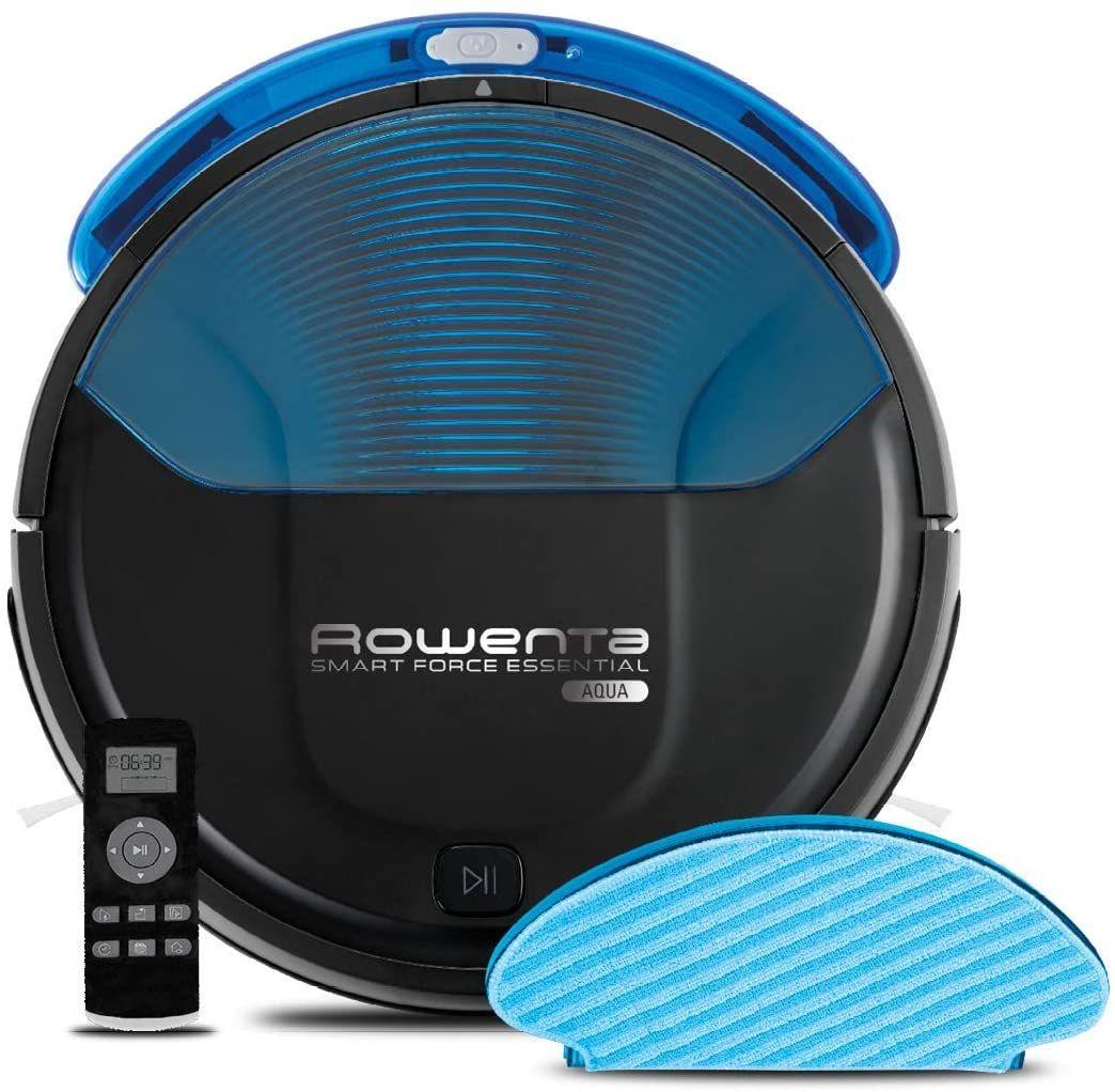 Rowenta RR6971 Smart Force Essential Aqua Saug- und Wischroboter, 2in1 Roboter-Staubsauger mit Wischfunktion [Amazon]