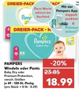 Pampers Baby Dry/ Premium Protection/ Pants Dreier Pack