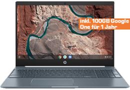"HP Chromebook 15-de0310ng - 15.6"" FHD IPS Notebook (Chrome OS, i3-8130U, 128GB SSD eMMC, 8GB DDR4, USB-C, 802.11ac, 60Wh, 1.81kg)"