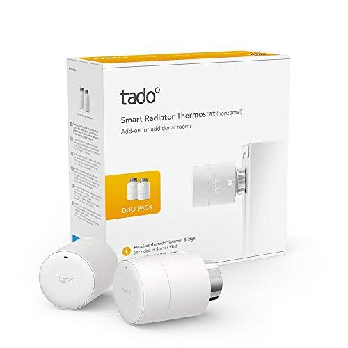 Tado Smartes Heizkörper-Thermostat - Duo Pack