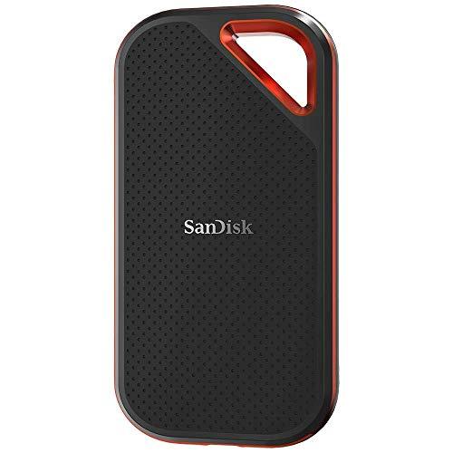 SanDisk Extreme Pro Portable SSD 500GB (IP55 Wasser- und Staubschutz)