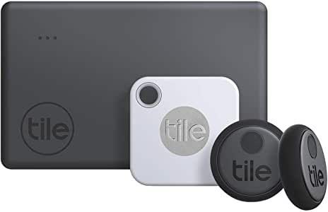 Tile Essentials (2020) Schlüsselfinder - 4er Pack [Amazon Prime]