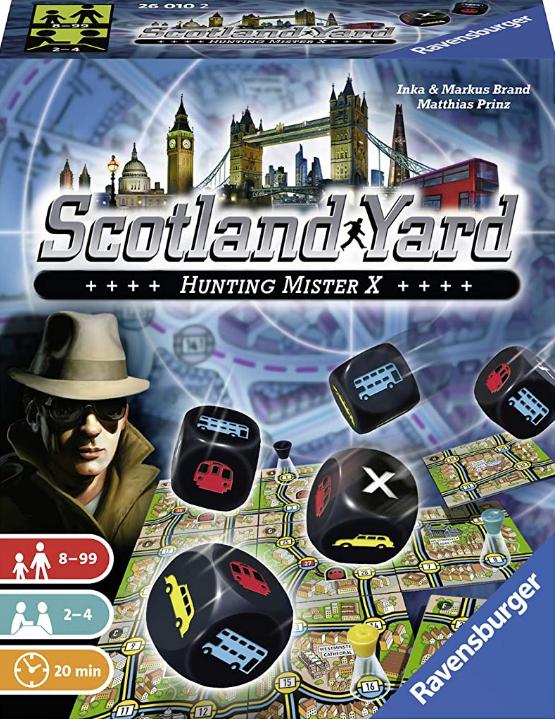 Scotland Yard - Das Würfelspiel [Amazon Prime]