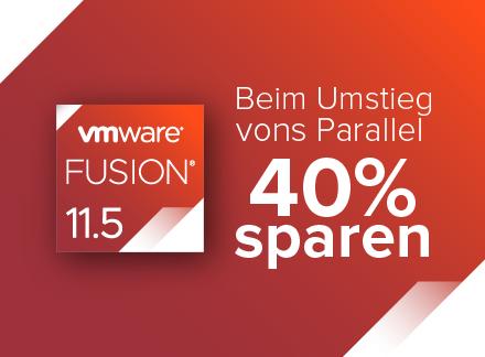 VMWare Fusion 11.5 / 40% Rabatt für alle / Fusion 11.5 Pro für 106.17€ / im US Store günstiger