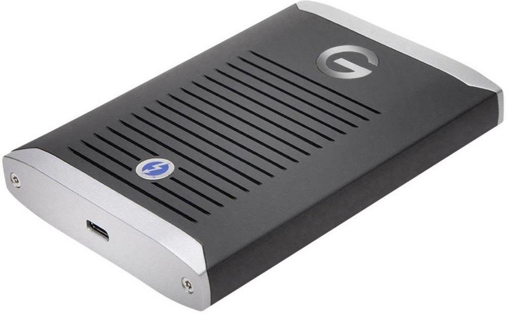 G-TECHNOLOGY G-DRIVE™ mit Thunderbolt™ 3, 1 TB SSD, 2,5 Zoll, externe SSD, Schwarz [Mediamarkt]