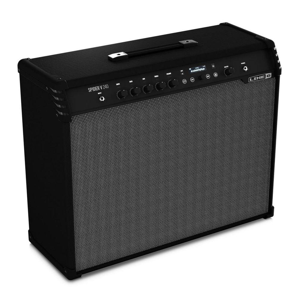 Line6 Spider V240 Gitarrenverstärker, Modeling Combo - mit 128 Presets, 240 Watt