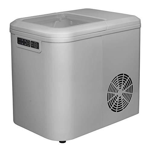 Whitelabel Eiswürfelmaschine / max. 15kg / 24h / 2,2l Wassertank / LED-Anzeige / 2 Eiswürfelgrößen @Amazon