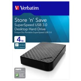 "Verbatim Store 'n' Save USB 3.0 4TB 3,5"" Externe Festplatte für 83,94€ (Nierle.com)"