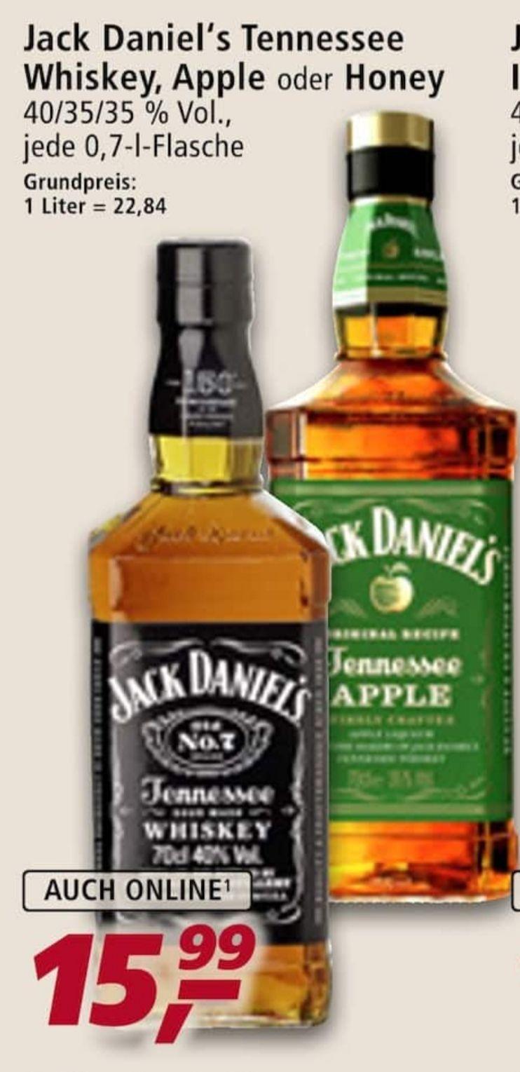 Jack Daniels Normal, Honey, Apple