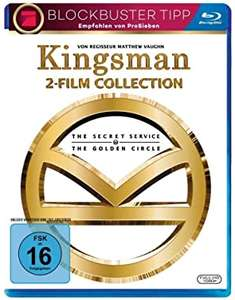 Kingsman - Teil 1 & 2 (2 Blu-ray) (Amazon Prime / ebay mecodu)