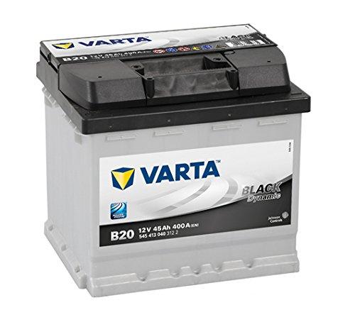 Starterbatterie Varta Black Dynamic B20 12V 45Ah 400 A