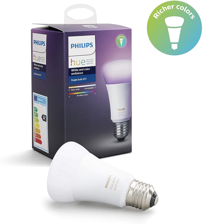 Philips Hue White & Color Ambiance E27 LED Lampe (3. Generation)