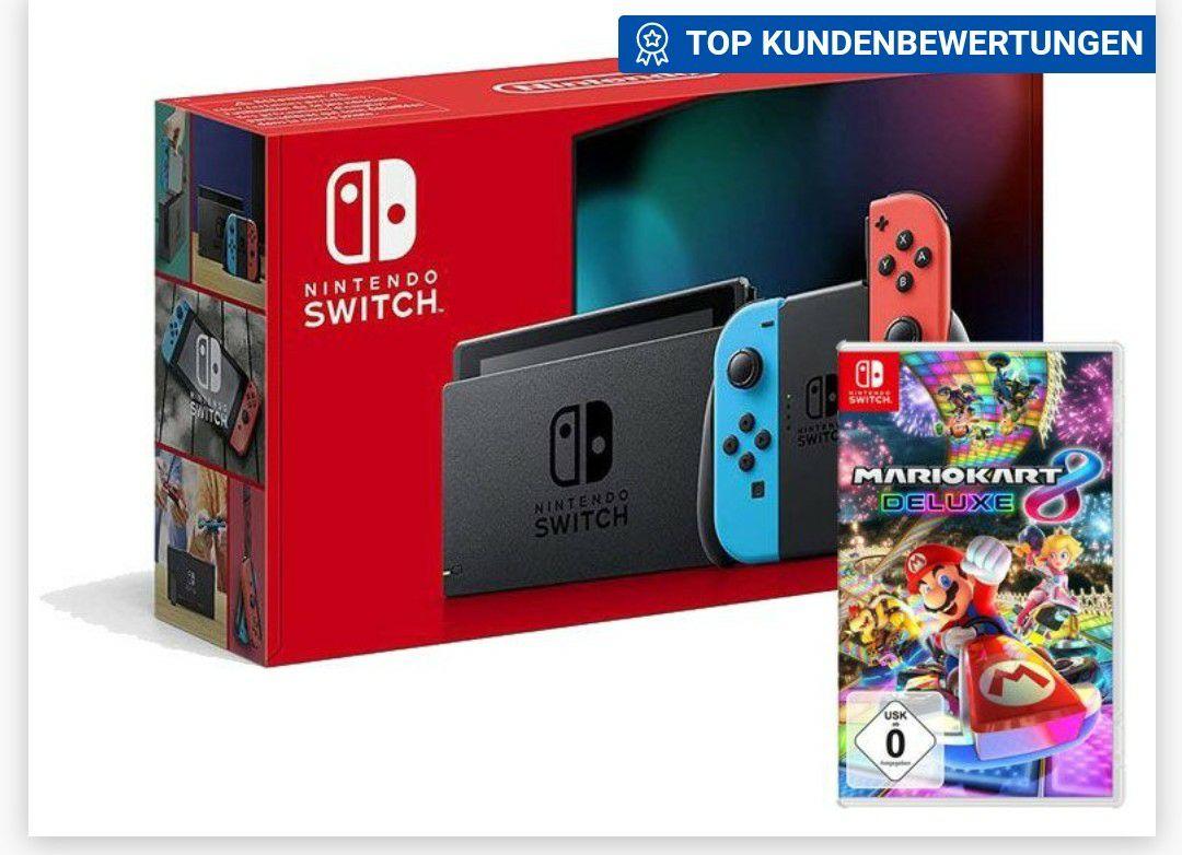 Nintendo Switch + Mario Kart 8 Delux
