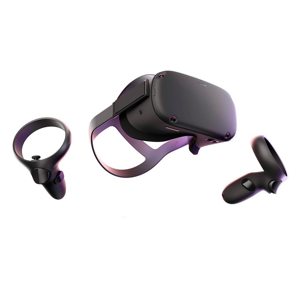 Oculus Quest 64GB, VR-Brille, schwarz, All-in-One-Gamingsystem