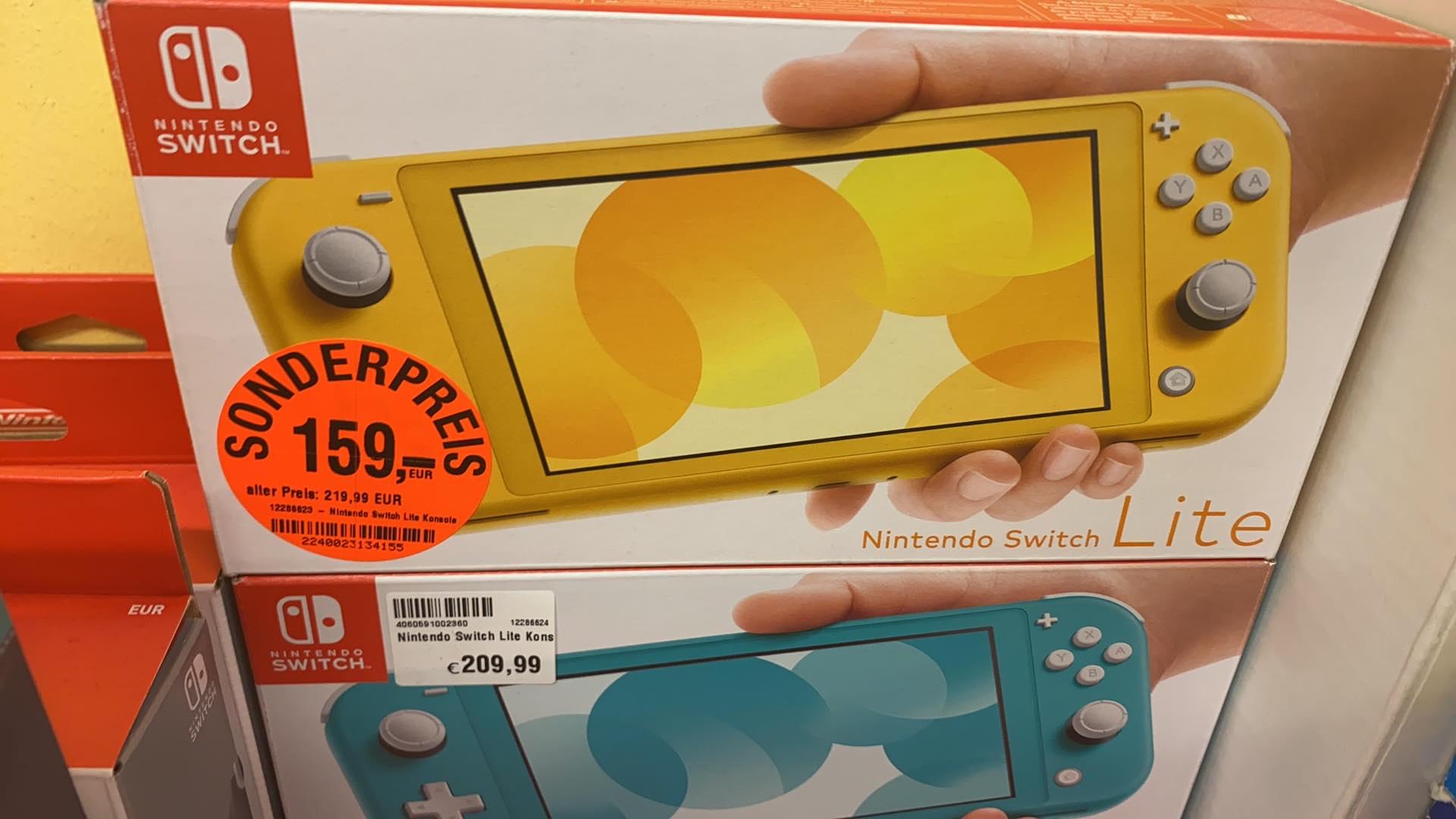 Nintendo Switch Lite - MyToys (Outlet) - ggf. nur lokal
