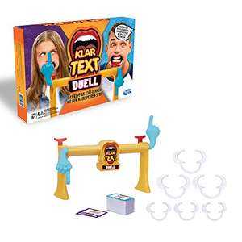 (Prime) Hasbro Gaming E1917100 - Klartext Duell Partyspiel