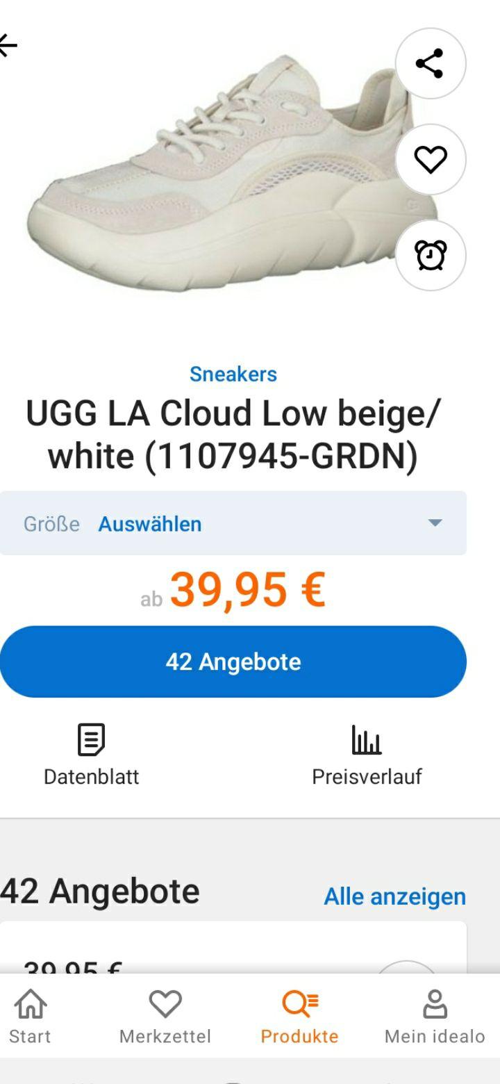 UGG LA Cloud