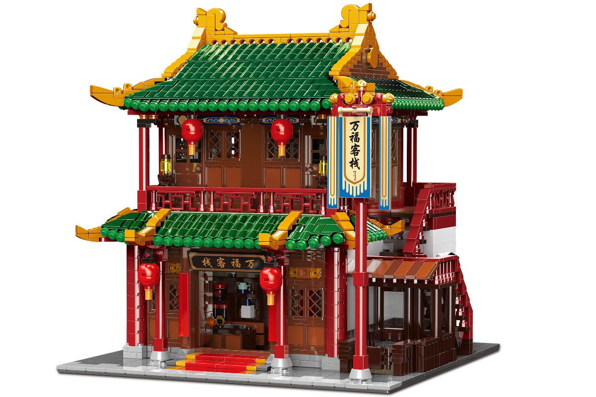 [Klemmbausteine] Chinesisches Road House von XingBao (ST-01022) @ Steinchenshop.de
