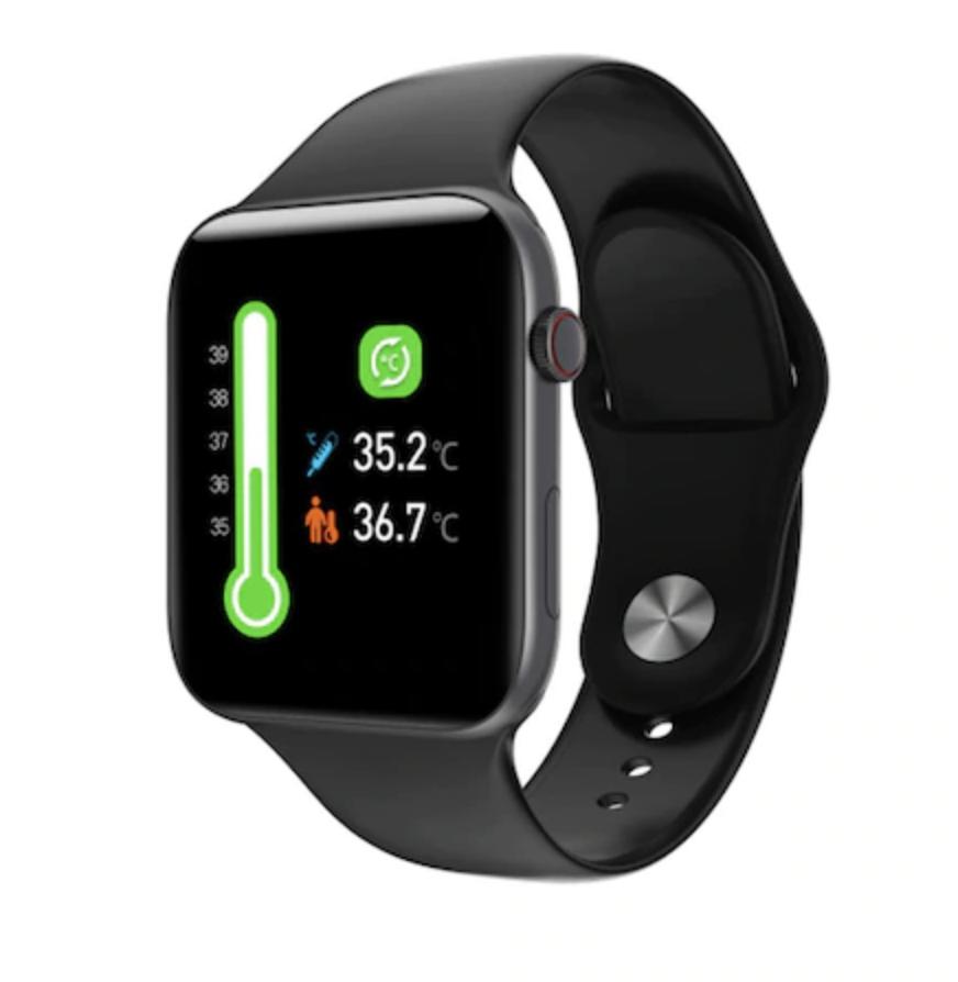 Fobase Air Pro Echt-zeit Körper Temperatur Herz rate zone 2 Bluetooth 5,0 Smart Uhr