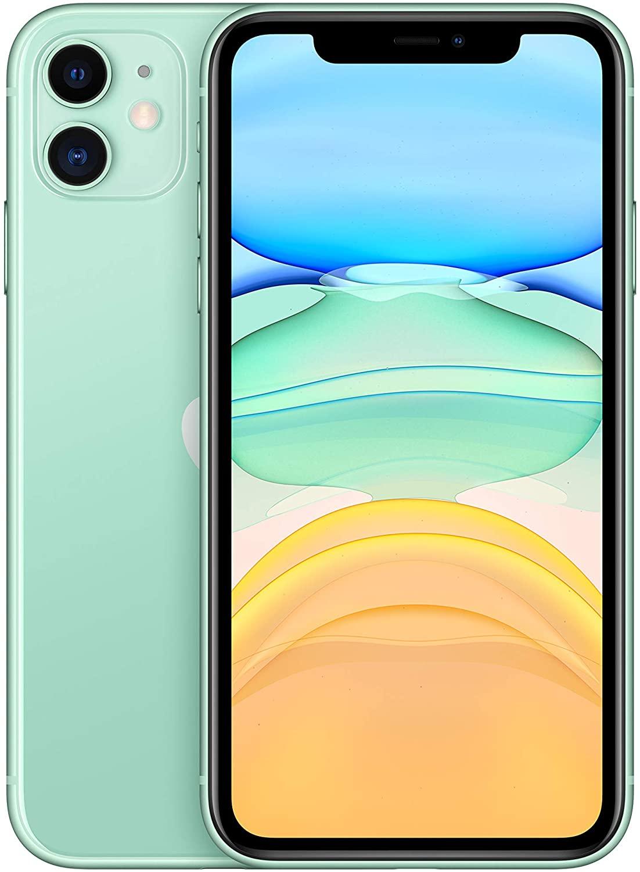 "Apple iPhone 11 256GB Grün (6,1"" HD+ IPS, 194g, A13, 4/256GB, NFC, 3110mAh, AnTuTu 521k) [V&V Amazon + ColisExpat]"