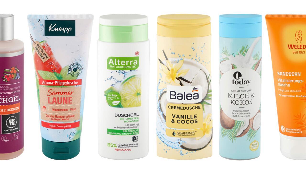 """[Öko-Test] Duschgel-Test: Fast jedes dritte Duschgel ist """"sehr gut"""" Jetzt gratis das Testurteil zu 50 Produkten abrufen!"""