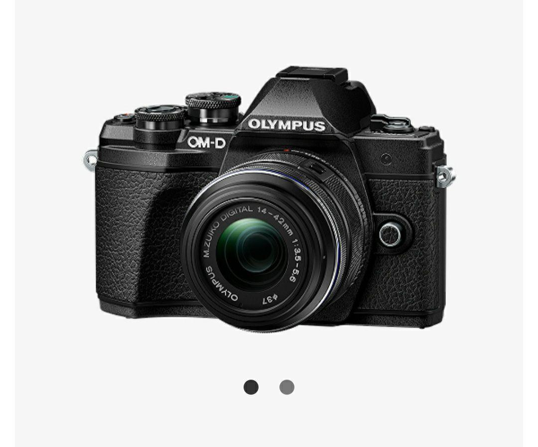 Systemkamera Olympus E-M10 Mark III Kit + 45mm 1.8