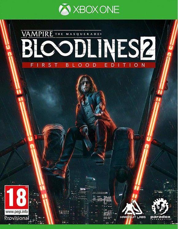 Vampire: The Masquerade - Bloodlines 2First Blood Edition (Xbox One) [Coolshop Vorbestellung]