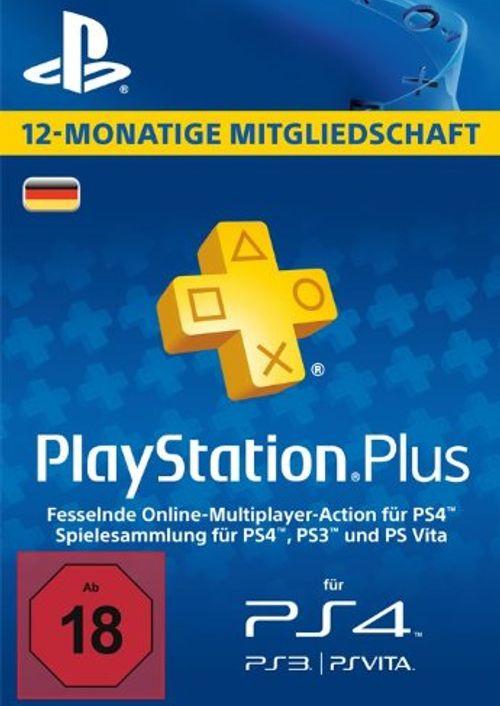 [PS Plus / DE-Account] PlayStation Plus Mitgliedschaft für 1 Jahr bei CDKeys