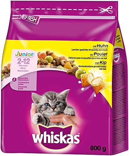 Whiskas Katzen Trockenfutter für junge Katzen 5x 800g