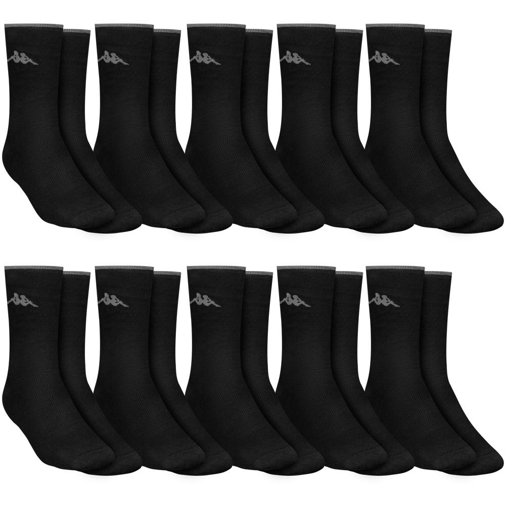 "Kappa ""Thomas"" Herren 10er-Pack Sport Socken (1,28€ / Paar)"