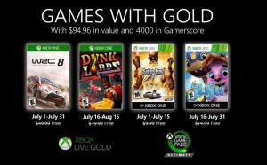 (Games with Gold Juli) WRC 8 FIA World Rally Championship, Dunk Lords (Xbox One) & Saints Row 2 & Juju (Xbox One/Xbox 360)